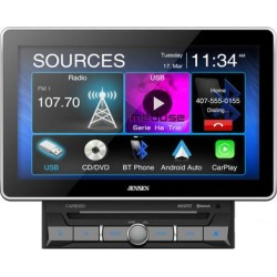Jensen CAR8000 DVD Receiver found on Bargain Bro from Crutchfield for USD $341.99