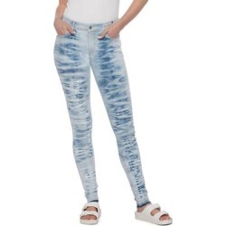 Fay Skinny Jeans - Blue - WASH LAB Jeans found on MODAPINS from lyst.com for USD $128.00