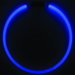 Nite Ize NiteHowl LED Safety Necklace Dog Collar, Blue, 12 to 27-in neck, 3/10-in wide found on Bargain Bro Philippines from Chewy.com for $9.99