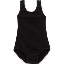 Wenchoice Girls' Leotards BLACK - Black Bow-Accent Leotard - Girls found on Bargain Bro India from zulily.com for $9.99