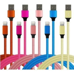 Lisensy Tech Lightning Cables Mixed - Red & Pink Lightning Cable Set found on Bargain Bro from zulily.com for USD $11.39