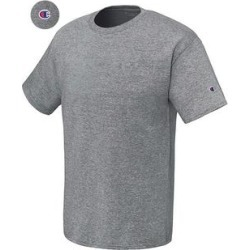 Champion Men's Short Sleeve Crew Neck Athletic T-Shirt found on Bargain Bro from Overstock for USD $9.05