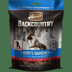 Merrick Backcountry Grain Free Hero's Banquet Dog Treats, 6 oz.