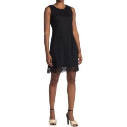 Chemical Lace Sheath Dress - Black - Bebe Dresses found on Bargain Bro Philippines from lyst.com for $60.00