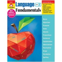 Evan-Moor Educational Publishers Educational Workbooks - Language Fundamentals - Grade 2 found on Bargain Bro from zulily.com for USD $13.37