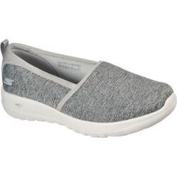 Skechers Women's Sneakers GRY - Gray GOwalk Joy Soft Take Slip-On Sneaker - Women found on Bargain Bro Philippines from zulily.com for $54.99