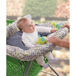 Summer Infant Shopping Cart and High Chair Covers - Clover Cushy Cart Cover found on Bargain Bro Philippines from zulily.com for $26.46
