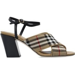 Heeled Sandals Beige - Natural - Burberry Heels found on Bargain Bro India from lyst.com for $615.00