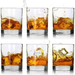 Whiskey Glasses-Premium 11 OZ Scotch Glasses Set of 6 found on Bargain Bro from Overstock for USD $48.63