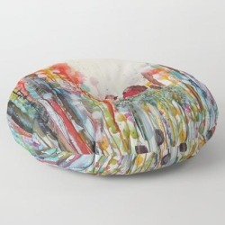 "Been Loving You For Always Floor Pillow by Sylvie Demers - ROUND - 30"" x 30"""