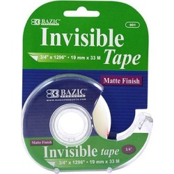 Bazic Products Tape Dispensers - Invisible Tape - Set of 6 found on Bargain Bro from zulily.com for USD $7.59