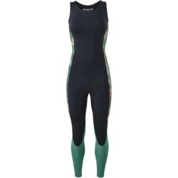 Womens R 1 Lite Yulex Long Jane Wetsuit Hemlock Green - Blue - Patagonia Beachwear found on Bargain Bro from lyst.com for USD $160.36