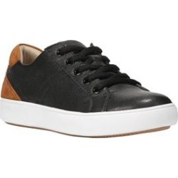 Women's Morrison Sneakers by Naturalizer in Black Leather (Size 7 M) found on Bargain Bro India from Roamans.com for $89.99