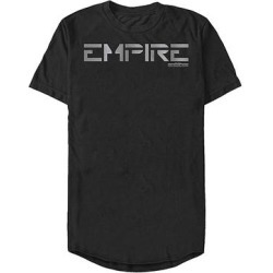 Fifth Sun Men's Tee Shirts BLACK - Star Wars: Jedi Fallen Order Black 'Empire' Long-Body Tee - Men found on Bargain Bro Philippines from zulily.com for $21.99