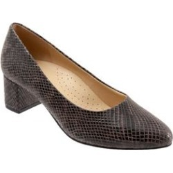Extra Wide Width Women's Kari Pump by Trotters in Dark Grey (Size 10 WW) found on Bargain Bro India from Woman Within for $104.99