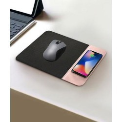 Tech Zebra Mouse Pads Pink - Pink Mouse & Wireless QI Charging Pad found on Bargain Bro Philippines from zulily.com for $16.99
