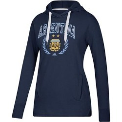 adidas Women's Sweatshirts and Hoodies Navy - Argentina National Team Arched Laurels Hoodie - Women found on Bargain Bro India from zulily.com for $44.99