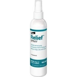 Relief Spray for Itchy Skin for Dogs, Cats, & Horses 8-oz bottle