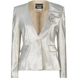 Suit Jacket - Gray - Boutique Moschino Jackets found on MODAPINS from lyst.com for USD $218.00
