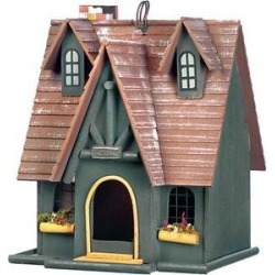 Zingz & Thingz Storybook Cottage Bird House found on Bargain Bro from Chewy.com for USD $25.83