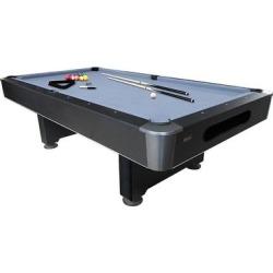 Dakota BRS Slate 8' Pool Table / (Automatic Ball Return - Pedestal), Blue, Mizerak found on Bargain Bro Philippines from Overstock for $1799.98