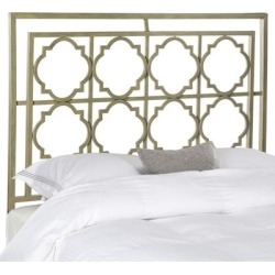 Safavieh Silva Metal French Silver Headboard (Queen) found on Bargain Bro from Overstock for USD $180.55
