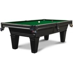 Milly 8' Slate Pool Table w/Premium Billiard Accessories (Green - 8 ft. - Slate - Drop - Assembly Required - Tapered - Wool) found on Bargain Bro Philippines from Overstock for $3999.00
