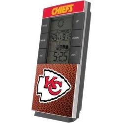 Kansas City Chiefs Football Digital Desk Clock found on Bargain Bro from nflshop.com for USD $26.59