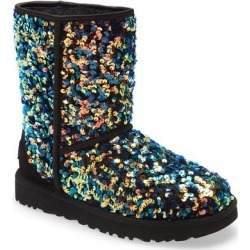 UGG Classic Stellar Sequin Boot - Black - Ugg Boots found on Bargain Bro from lyst.com for USD $72.20