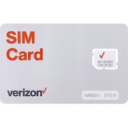Firstech X1-VZW-SIM Verizon SIM Card for DRONE found on Bargain Bro from Crutchfield for USD $15.19