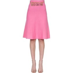 Knitted Skirt - Pink - Moschino Skirts found on Bargain Bro Philippines from lyst.com for $619.00