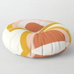 Floor Pillow   Last Rainbow by Grace - ROUND - 30