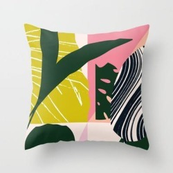 Couch Throw Pillow | Tropical West by Grace - Cover (16