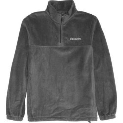 Columbia Mens Sweater Steel Gray Medium M Steens Mountain Fleece 1/2 Zip (M), Men's found on MODAPINS from Overstock for USD $38.98