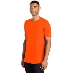 Nike Men's Core Cotton Crew Neck Tee (Orange - 2XL) found on Bargain Bro India from Overstock for $26.54