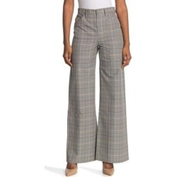 High Rise Wide Leg Pants - Gray - Baldwin Denim Pants found on MODAPINS from lyst.com for USD $60.00