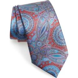 Venticinque Paisley Silk Tie - Blue - Ermenegildo Zegna Ties found on Bargain Bro India from lyst.com for $385.00