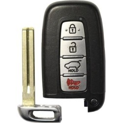 Kia Soul OEM 4 Button Key Fob SY5HMFNA04 found on Bargain Bro from Refurbished Keyless Entry Remote for USD $78.11