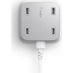 Belkin F8M990ttWHT 4-Port USB Home Charger found on Bargain Bro from Crutchfield for USD $34.95