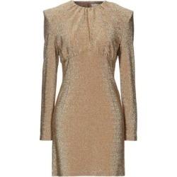 Short Dress - Metallic - Sara Battaglia Dresses found on Bargain Bro Philippines from lyst.com for $117.00