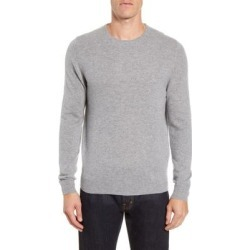 Cashmere Crewneck Sweater - Gray - Nordstrom Knitwear found on Bargain Bro from lyst.com for USD $44.08