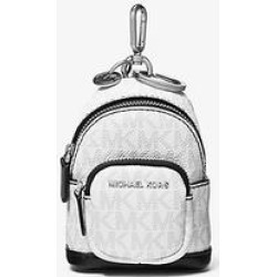 Michael Kors Logo Backpack Keychain White One Size found on Bargain Bro Philippines from Michael Kors for $73.50