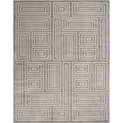 Safavieh Grey/Ivory Amherst Geometric Square Maze Area Rug Collection found on Bargain Bro Philippines from belk for $391.50