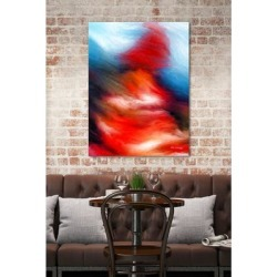 Mark Lawrence 'I Will Walk Through The Valley If You Want Me To. Psalms 23:4' Giclee Stretched Canvas Wall Art found on Bargain Bro Philippines from Overstock for $309.99