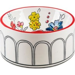 Molly Hatch Pet Bowls - Flower Patch Pet Bowl found on Bargain Bro from zulily.com for USD $12.91