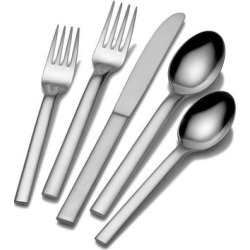 Mikasa Ovoid 18.0 Forged 20 Pc Flatware Set (Service for 4 - Silver)(Stainless Steel) found on Bargain Bro Philippines from Overstock for $115.99