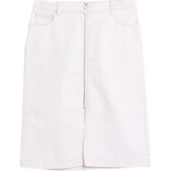 Denim Skirt - White - Belstaff Skirts found on MODAPINS from lyst.com for USD $118.00