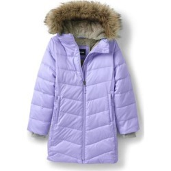 Girls Winter Fleece Lined Down Alternative ThermoPlume Coat - Lands' End - Purple - XL found on Bargain Bro from landsend.com for USD $55.84