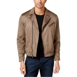 I-N-C Mens Faux Suede Motorcycle Jacket found on Bargain Bro Philippines from Overstock for $64.96