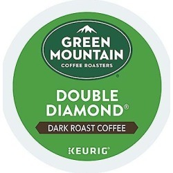 24 Ct Green Mountain Coffee Double Diamond Coffee K-Cup® Pods. Coffee found on Bargain Bro from Keurig.com for USD $11.39